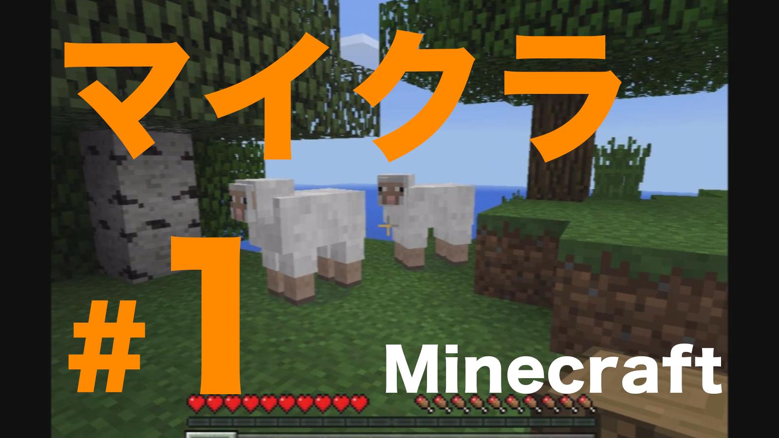 【You Tube】マイクラの実況動画をアップしました!