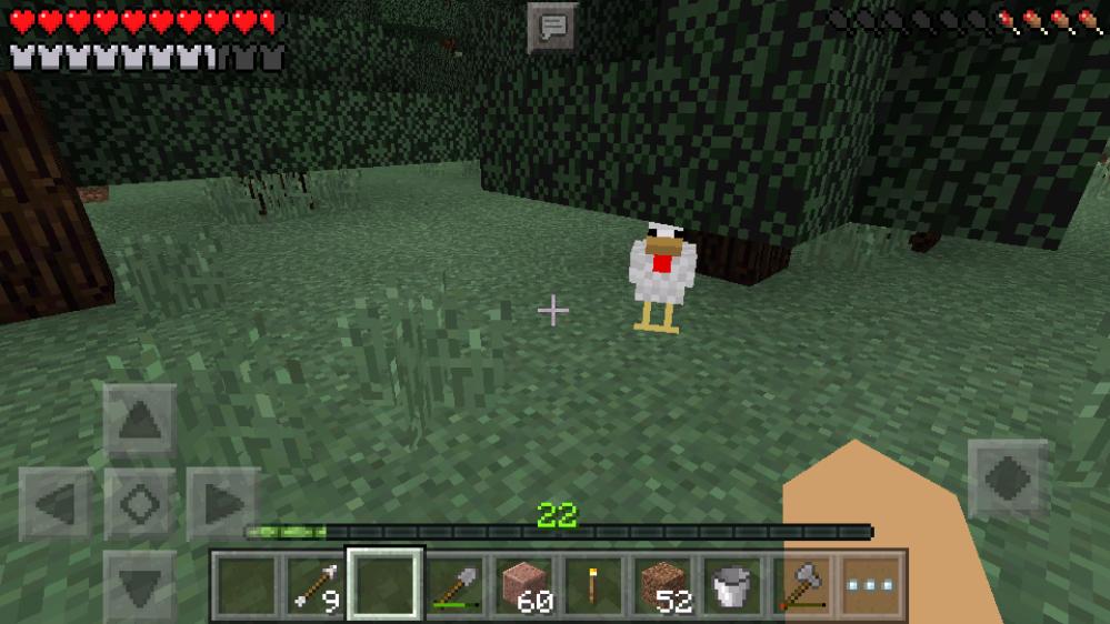 【マイクラpe日記】自動小麦回収畑をつくったり